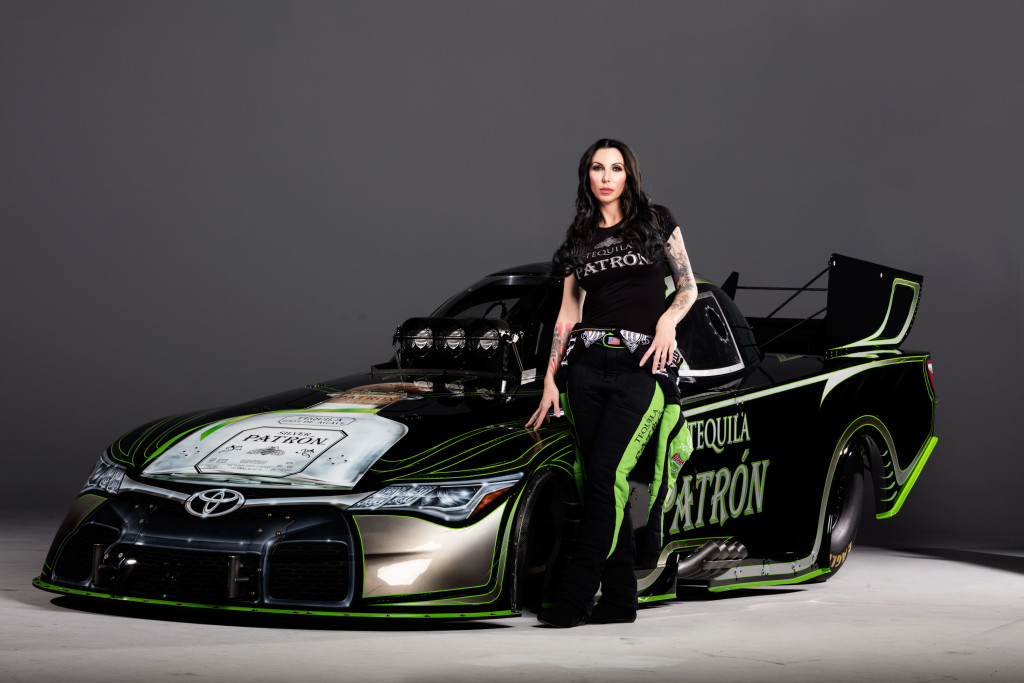 Alexis Dejoria Goes Green In 2016 Racingjunk News