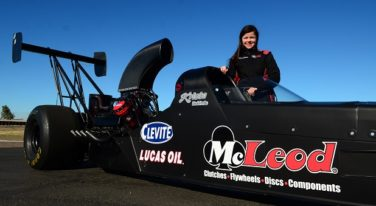 Krista Baldwin Embraces a Legacy and Her A/Fuel Dragster Debut