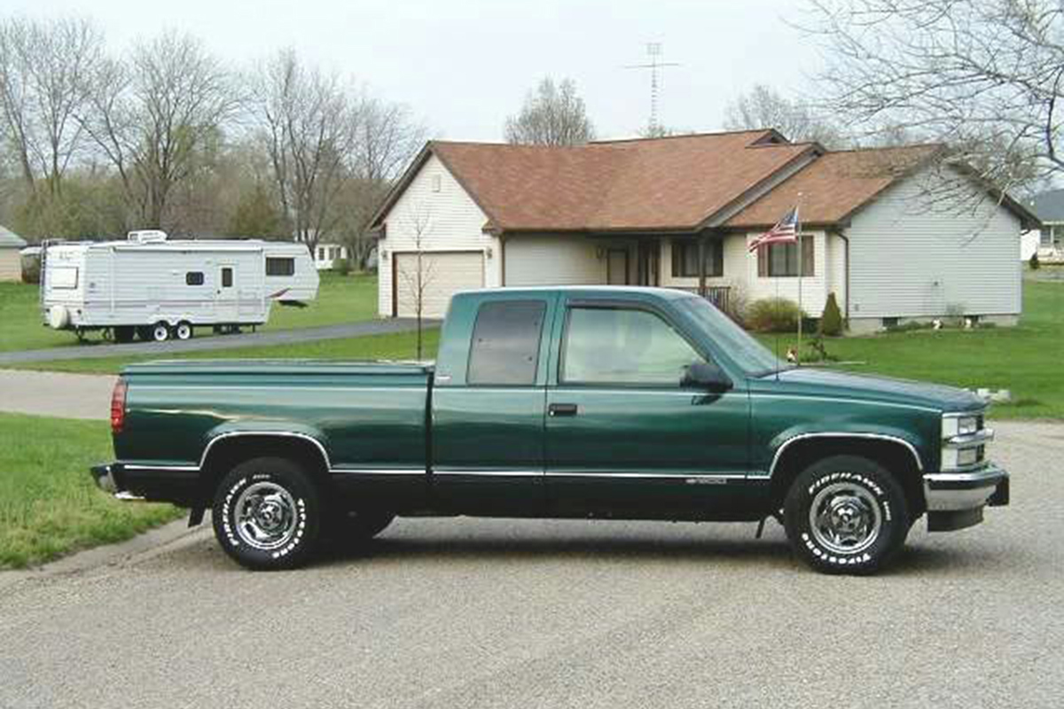 Dad And Brads 95 Chevy Ls Swap Racingjunk News Chevyclutchlinkage Truck Clutch Linkage Diagram Car Pictures C1500
