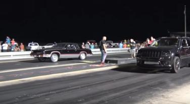 [Video] 1600+HP AWD Drag Race Showdown: Cutlass vs Jeep