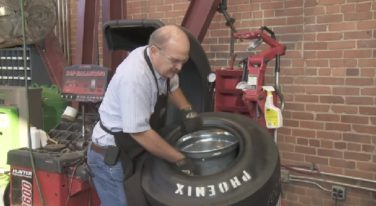 Coker Tire - Installing an Inner Tube in a Drag Racing Tire