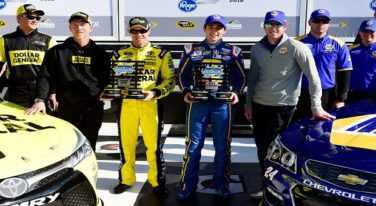 Chase Elliott Speeds to Daytona 500 Pole
