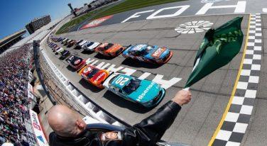 Kyle Busch Monopolizes NASCAR Xfinity Heads Up Georgia 250