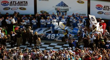 Jimmie Johnson's 76th Victory Ties Dale Earnhardt
