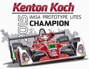 Kenton Kock IMSA Champ