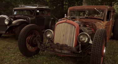 [Video] Rat Rods Built To Drive at NHRA Holley Hot Rod Reunion