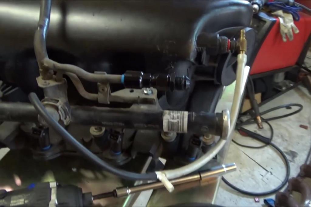 Vacuum Supplied X on Gmc Truck Ls Engine Swap