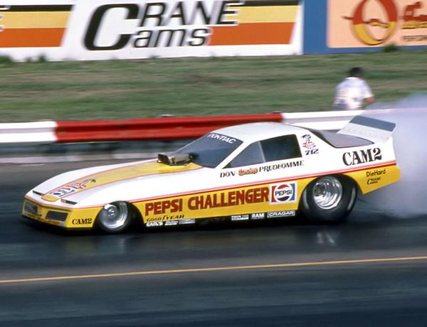 don prudhomme pepsi challenger trans am