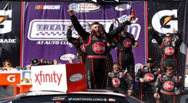 Austin Dillon Saves Fuel to Win the Treat My Clot 300