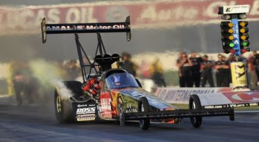 Terry McMillen in Top Fuel Top Five
