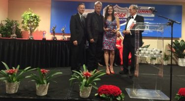 Laurie Force Honored with Pat Garlits Award