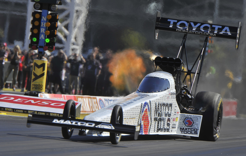 Antron Brown NHRA