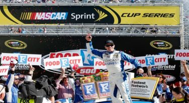 Carl Edwards Chases Down Sprint Cup Win at Bristol