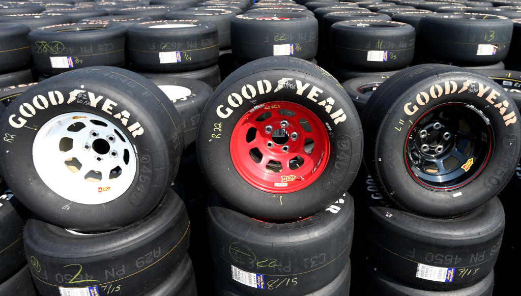 during practice for the NASCAR XFINITY Series VFW Sport Clips Help A Hero 200 at Darlington Raceway on September 4, 2015 in Darlington, South Carolina.