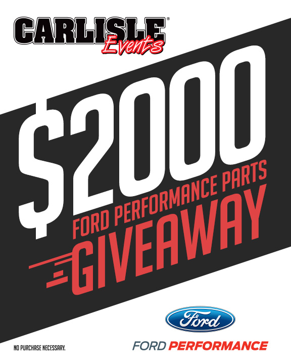 Ford Performance Parts Giveaway
