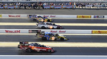 B. Force, Wilkerson, Line and Hines Score NHRA 4-Wide Wins