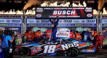 Busch Steamrolls Over Texas Xfinity Field