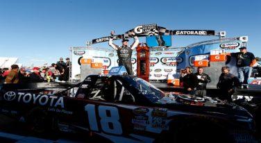 Kyle Busch Wins Martinsville's Truck Race