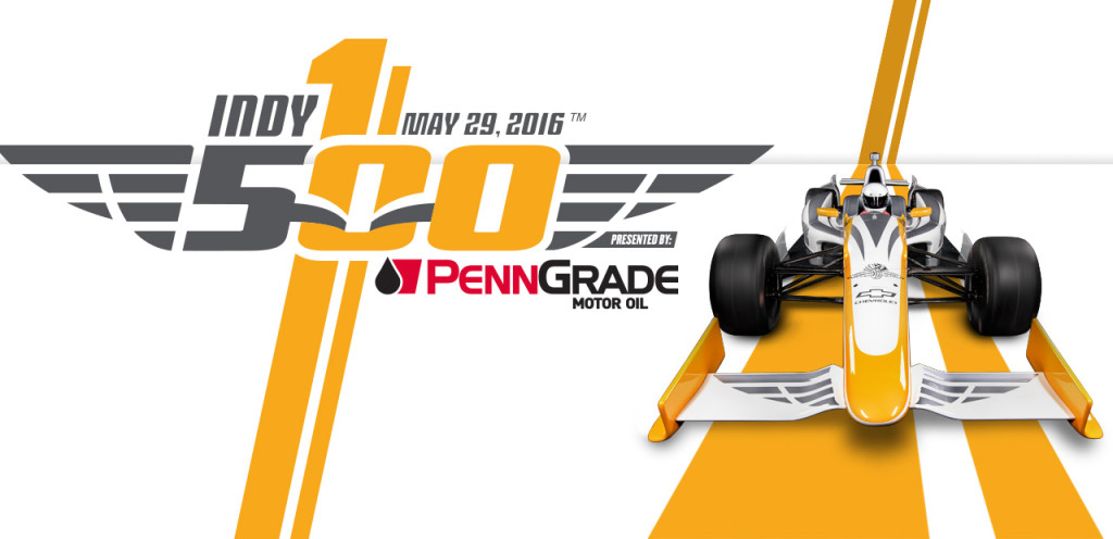 100th indy 500 logo