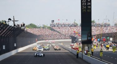 Rookie Rossi Wins 100th Indianapolis 500