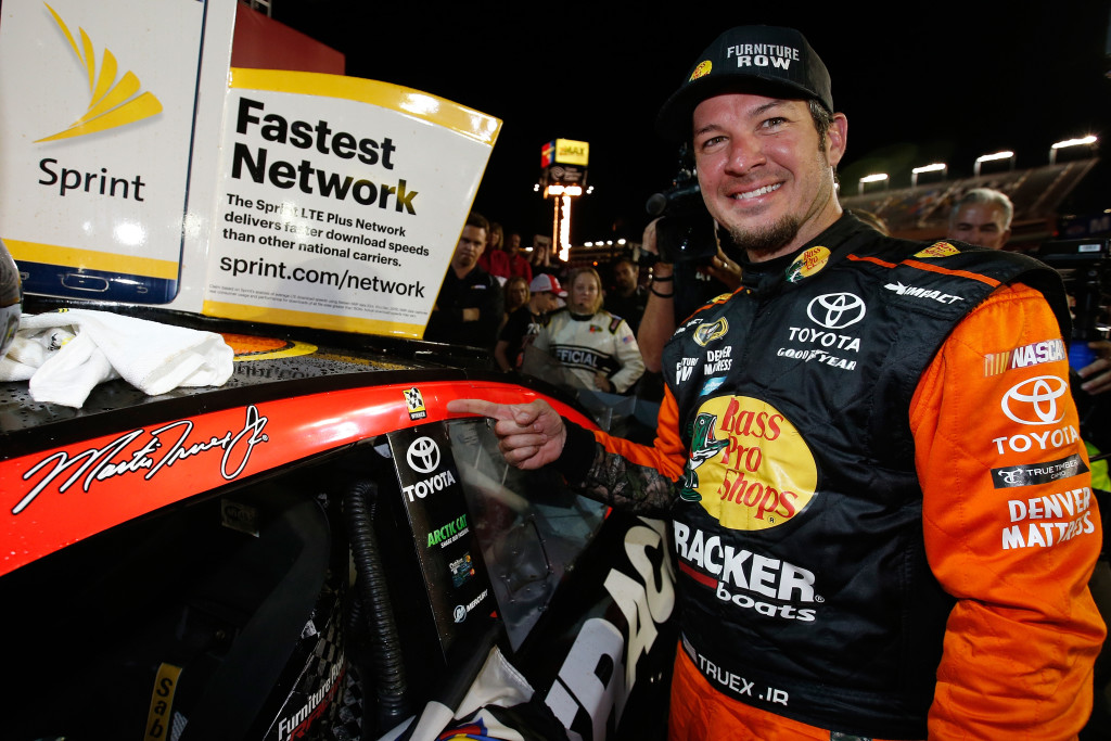 Martin Truex Wins Coke 600