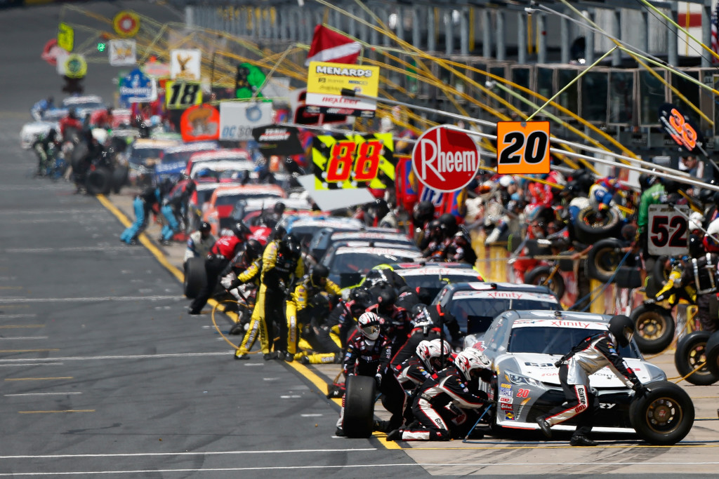 NASCAR Xfinity Race Charlotte
