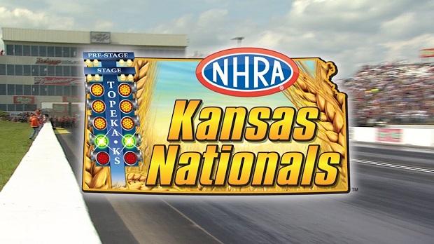 NHRA Kansas Nationals logo Feature