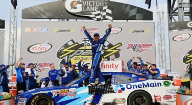 Elliott Sadler Triumphs in Chaotic Talladega Finish