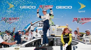 Keselowski Wins Wreck-Filled GEICO 500