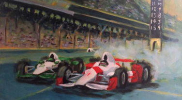 Indy 500 Art Show Celebrates 100 Years of Racing