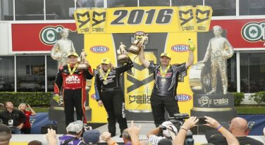 Kalitta, C. Force, and Anderson Win at Royal Purple Raceway