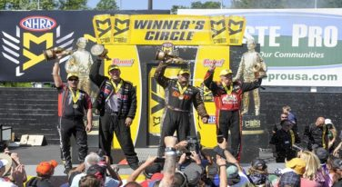 Kalitta Wins Closest Top Fuel Finish in NHRA History
