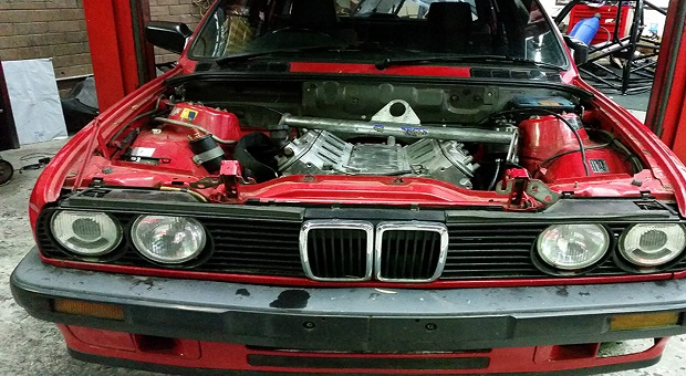 Bmw E30 Gets An Ls Swap  U2013 Racingjunk News
