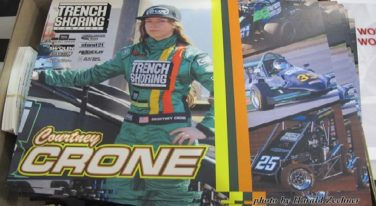 Courtney Crone Lands Trench Shoring Sponsorship