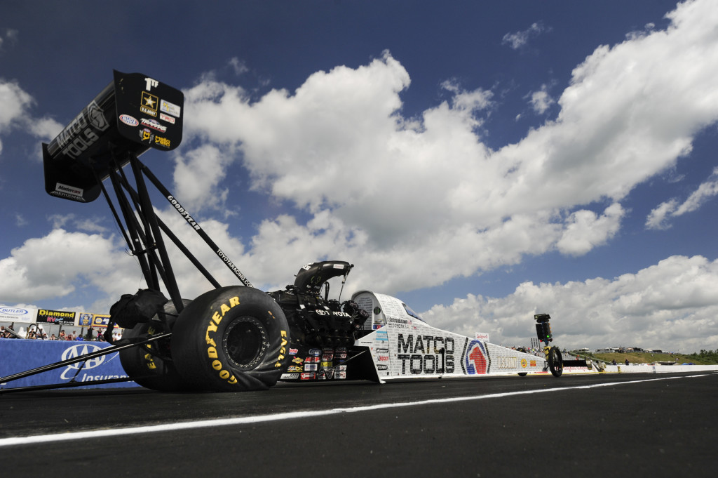 NHRA Antron Brown