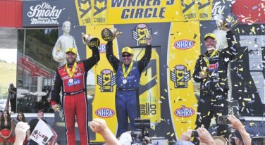 NHRA Bristol Father's Day Wins for Langdon, Johnson, Jr. and Line