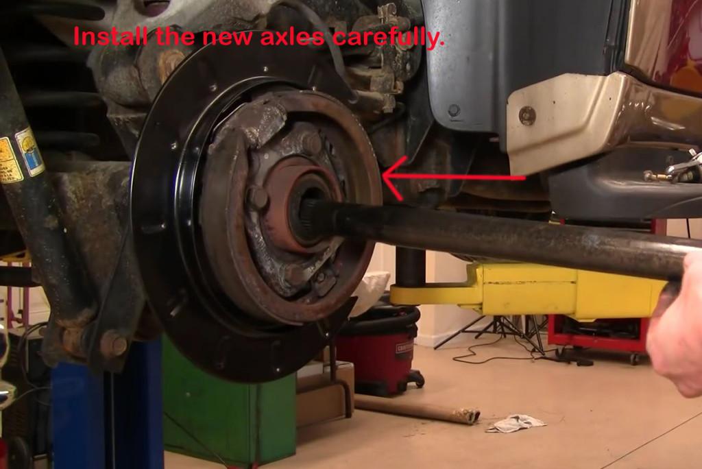 Axle-Install