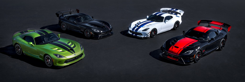 Dodge Viper Lineup for 2017
