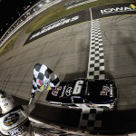 Hornish and Byron Stand out in NASCAR's Iowa Weekend