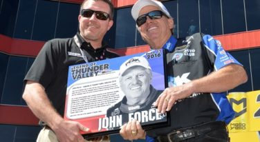John Force Inducted into Legends of Thunder Valley