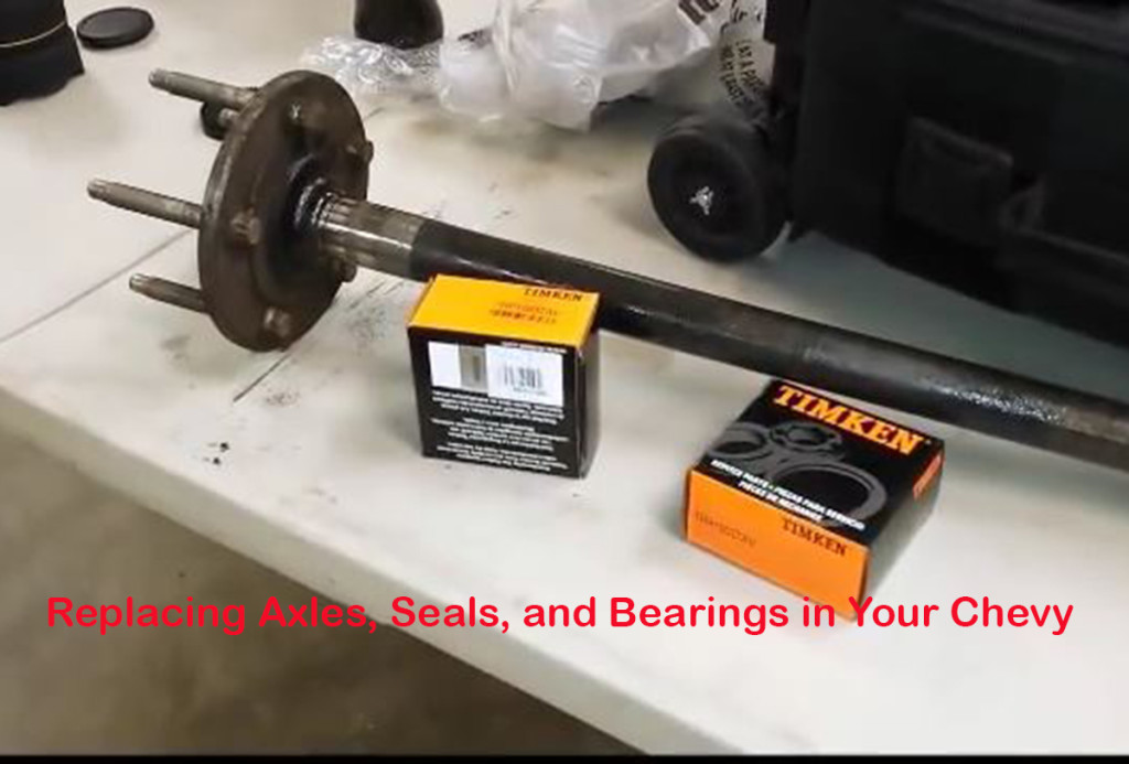 We tackle the job of replacing axles, bearings, and seals in our strip burner Camaro. These steps will work for any GM ten- or twelve-bolt rear. Images from screenshots.