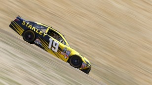 SONOMA, CA - JUNE 24:  Carl Edwards, driver of the #19 Stanley Toyota, drives during practice for the NASCAR Sprint Cup Series Toyota/Save Mart 350 at Sonoma Raceway on June 24, 2016 in Sonoma, California.  (Photo by Jonathan Ferrey/Getty Images)