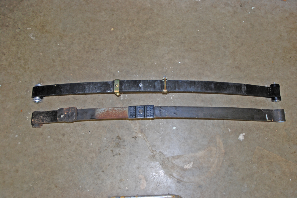 traction leaf springs