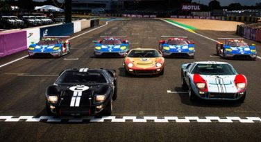 Ford GT Welcomed Back to World's Most Famous Race