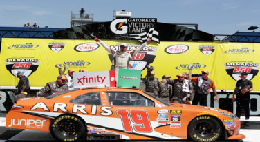 Suarez First Mexican Driver to Win National NASCAR Event