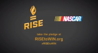 NASCAR and RISE Unveil Campaign for Sports Equality
