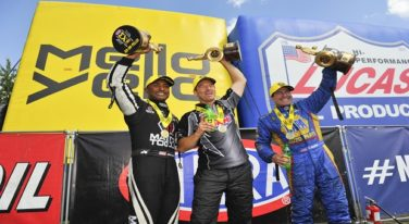 Brown, Capps, and Anderson Triumph at NHRA New England Nationals