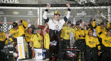 Keselowski Gets Milestone 100th Win for Team Penske