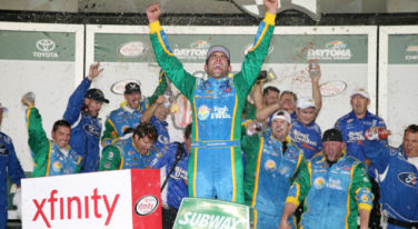 Almirola Wins by Inches in Daytona Photo-Finish