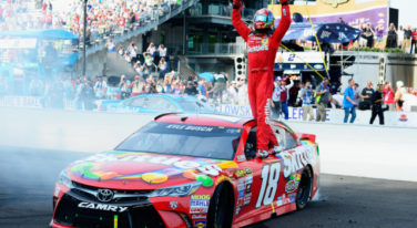 Kyle Busch Continues Shattering NASCAR Records Kissing the Bricks at Indy
